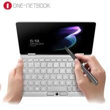 """【Dhl】 jeden Netbook jeden Mix 3 joga kieszonkowy Laptop intel Core M3 8100Y dwurdzeniowy 8.4 """"IPS Win 10 8GB DDR3 256GB PCI E SSD notebook"""