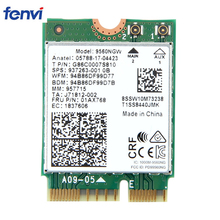 Dual Band 1.73Gbps Wireless สำหรับ Intel AC 9560 9560NGW NGFF KEY E การ์ด WIFI 9560AC 8020.11ac บลูทูธ 5.0 แล็ปท็อปสำหรับ Windows 10
