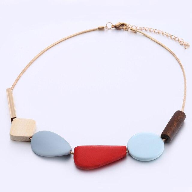 Фото яркое массивное ожерелье из полимерных бусин женские разноцветные цена