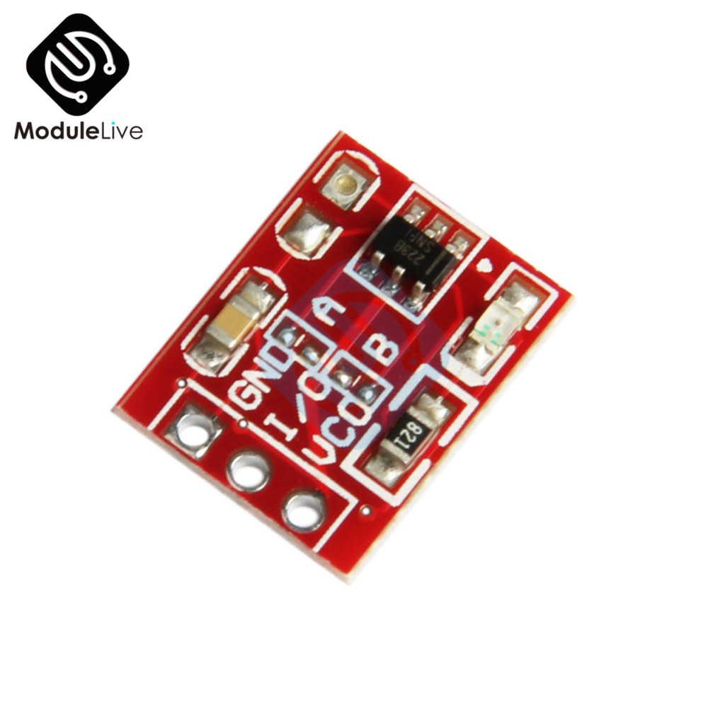 TTP223 сенсорный ключ переключатель модуль сенсорные кнопки емкостные переключатели самоблокирующиеся/без блокировки емкостные сенсорные переключатели