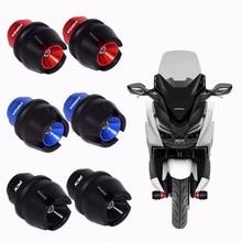 Motorfiets Accessorie Voorvork Wiel Fall Bescherming Frame Slider Anti Crash Protector Voor Honda Pcx 125 150 Forza 125 300 250