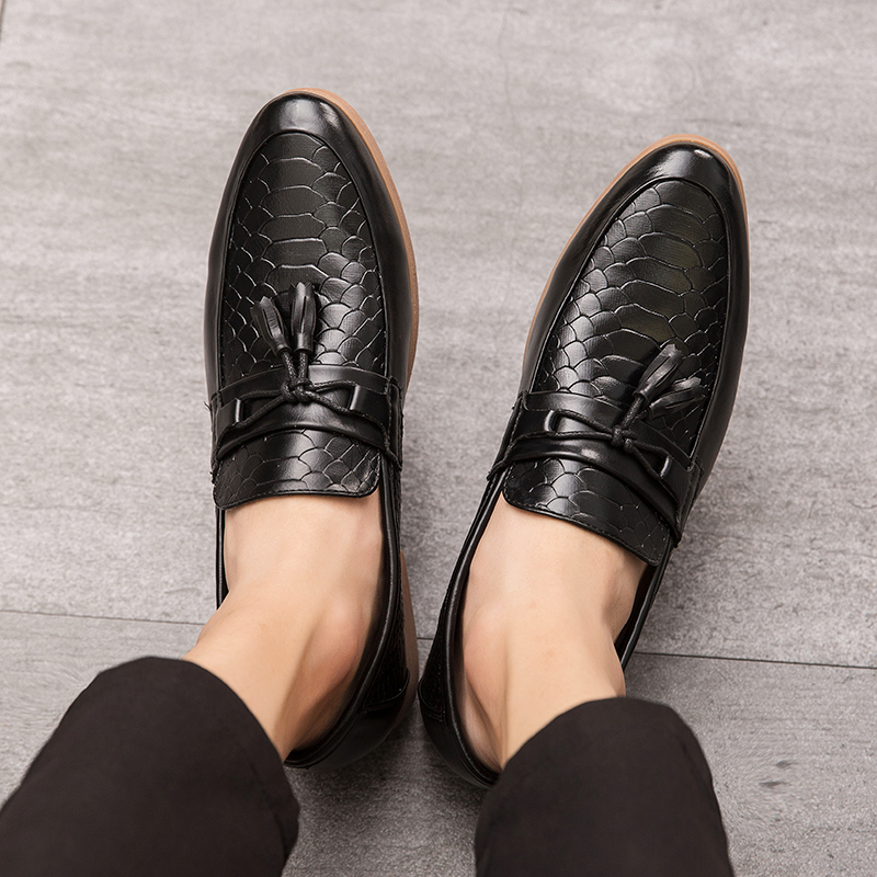 Men Casual Shoes Men Shoes Genuine Leather Men Loafers Moccasins Slip On Mens Flats Male Driving Shoes,02 Fur Gray,11