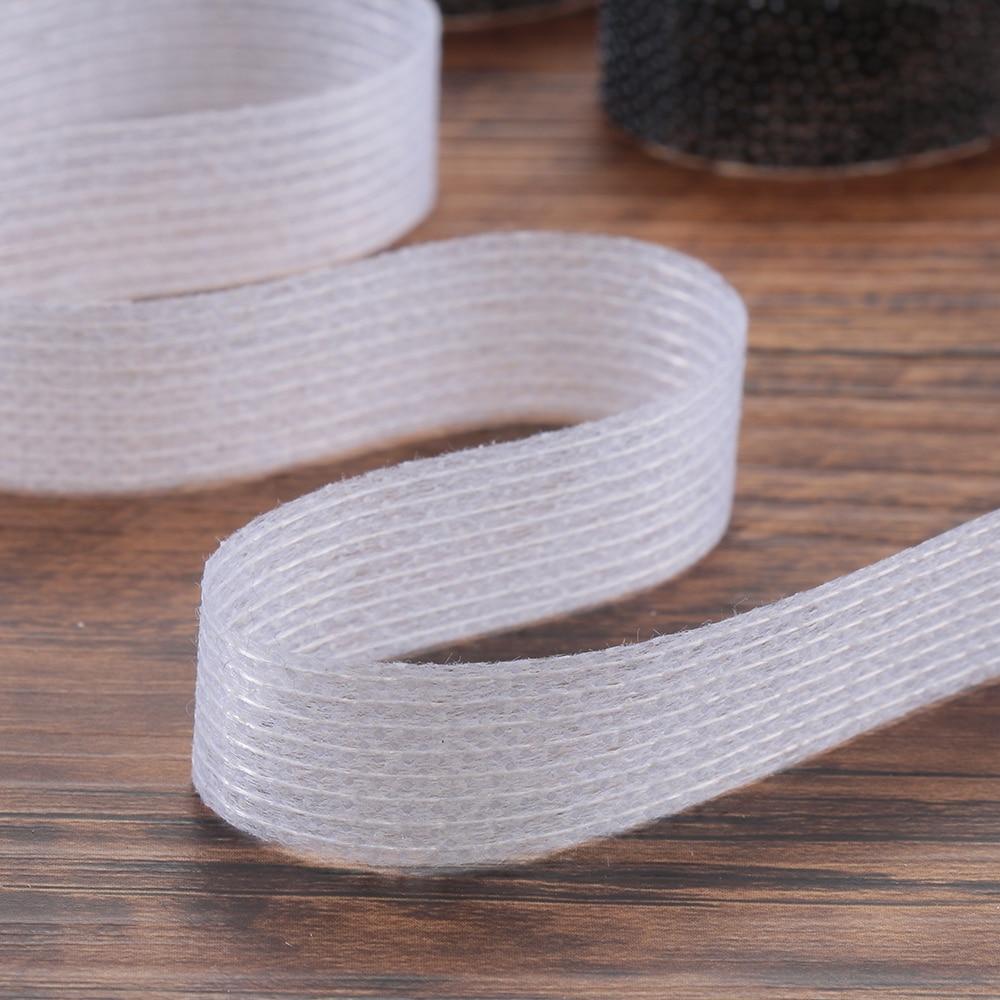 Новый 50 м двухсторонняя чудо веб-утюг на Хемминг лента 1/1. 5/2 см Клей нетканый рулон ткани-недорогая одежда из Китая высокое качество отворотами лента для рукоделия