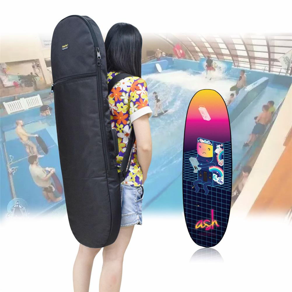 107x33cm Waterproof Oxford Cloth Surfboard Sock Cover 10mm Cotton Padded Surfboard Protective Shoulders Bag