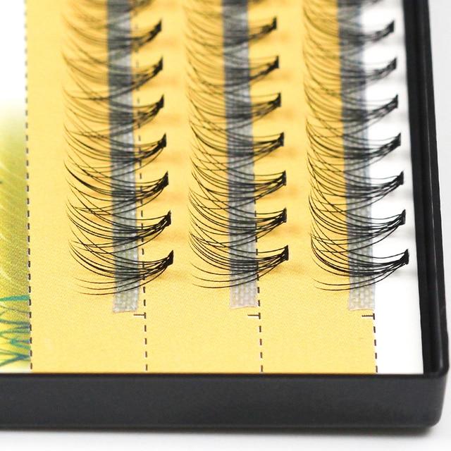 Grafting world 10D Natural Eyelash Extensions Mink Black Fake False Eyelashes Curl Natural Eye Grafting Individual Lashes 1