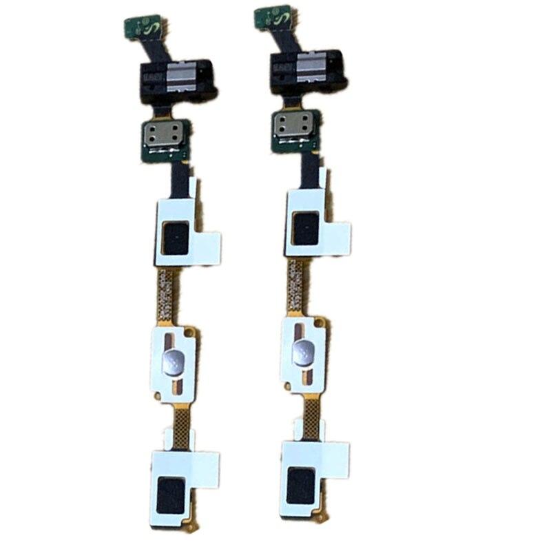 Original New Home Button keypad Sensor Audio Jack Headphone Flex Cable For Samsung Galaxy J7 Duo 2018 J720F J720