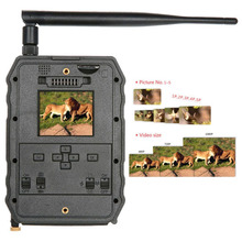 PIR Trail Camera Infrared Night Vision 3G Hunting Camera Surveillance Tracking Cams for Forest Monitoring farm Animals Warehouse