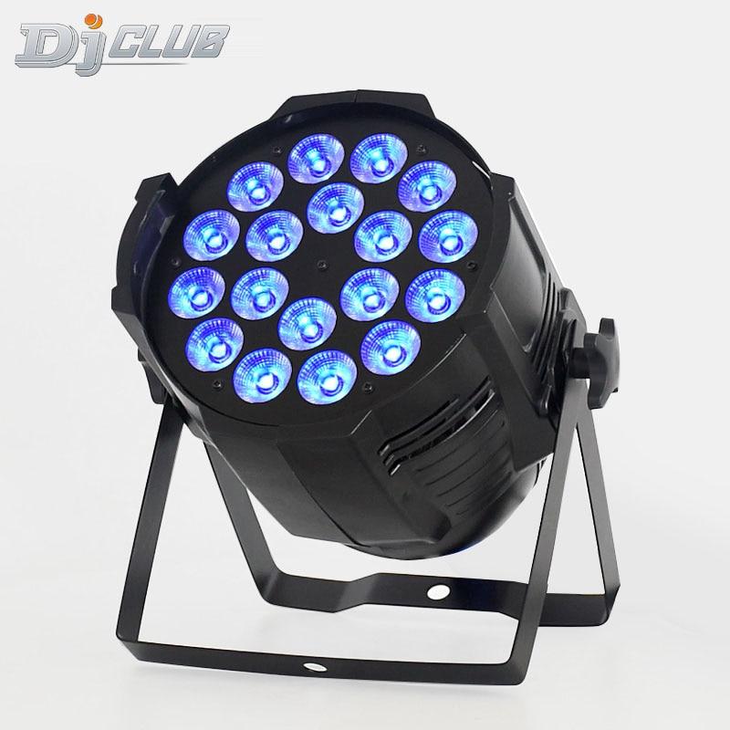18x12W RGBW 4in1 LED Par Can Par 64 Spotlight Dj Stage Lighting
