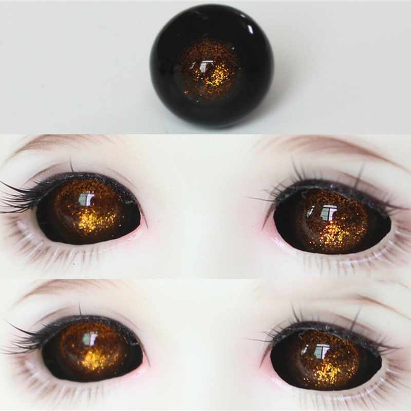 Large SELECTION COLOURS NEW eyes from Ø8MM Glass Doll Eyes For BJD Doll Doll