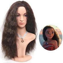 Длинные кудрявые парики коричневые парики для женщин синтетические Кудрявые Волнистые Парики 24 дюйма Косплей парики