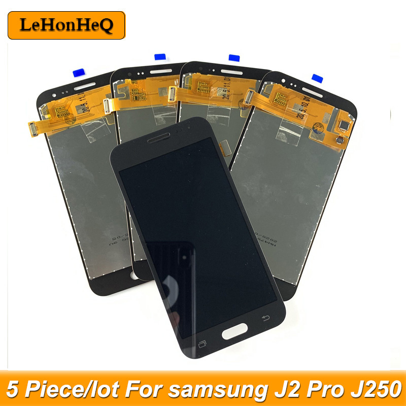 5 Piece/lot LCDS For <font><b>Samsung</b></font> <font><b>Galaxy</b></font> <font><b>J2</b></font> Pro <font><b>2018</b></font> J250 LCD Display Touch screen digitizer Assembly For <font><b>Samsung</b></font> <font><b>J250F</b></font> J250H LCD image