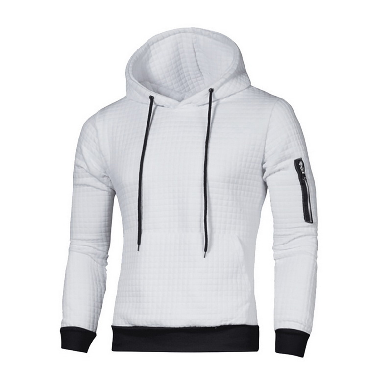 SHUJIN 2019 Sweater Mens Solid Pullovers New Fashion Casual Hooded Sweater Autumn Winter Warm Femme Men Clothes Slim Fit Jumpers