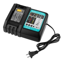 Li-Ion Battery Charger 3A Charging Current For Makita 14.4V 18V Bl1830 Bl1430 Dc18Rc Dc18Ra Power Tool Dc18Rct Charge Us Plug