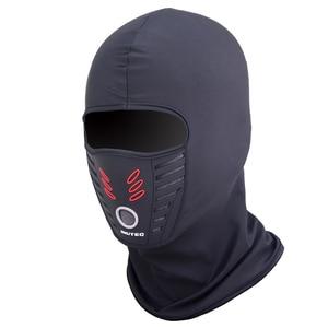 Image 4 - LMoDri לפטור יוניסקס מסכת Windproof חיצוני ספורט התחממות מסכת הוד לנשימה פנים אופנוע רכיבה סיטונאי
