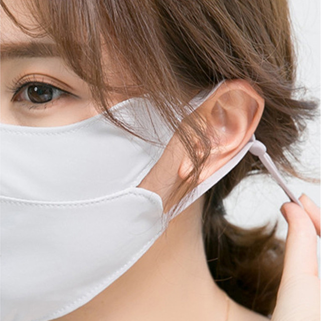 Adult Cotton PM2.5 Mouth Mask Cute Solid Anti Haze Dust Mask Windproof Face Flu Washable Fabric Cloth Respirator @A30 5