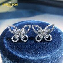 Jewepisode 100% 925 sterling silver created moissanite diamond