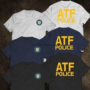Camiseta de policía de la Oficina de Alcohol tabaco Armas de Fuego y Explosivos (ATF)