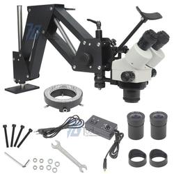Ювелирные изделия оптические инструменты супер прозрачный микроскоп с подставкой для лупы Алмазная установка микроскоп с светодиодный св...