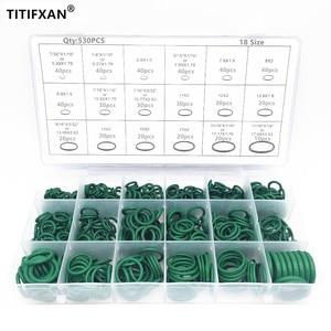530pcs Car R134a car O-ring repair automotive air conditioning repair rubber sealant Box Set(China)