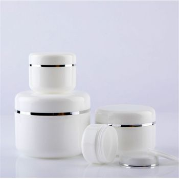 Refillable Bottles Travel Face Cream Lotion Cosmetic Container Plastic Empty Makeup Container Jar Pot 30pcs 10g 20g 30g 50g plastic empty makeup jar pot refillable sample bottles travel face cream lotion cosmetic container white