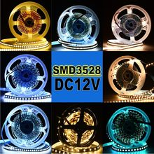 Stringhe di Led Super Bright 5M 300 Led 3528 Smd Verde Blu Bianco Caldo Set Non-Impermeabile Strisce di Luce nastro Flessibile Dc 12V Luci(China)