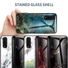 Luxury Marble Glass Case for OPPO Find X