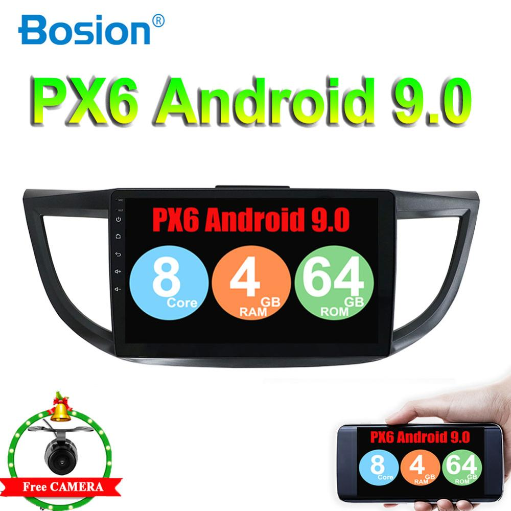 8 core Android 9.0 2 Din Car DVD <font><b>Multimedia</b></font> Video Player GPS Car Radio Auto Radio Stereo 10''Audio For <font><b>Honda</b></font> <font><b>CRV</b></font> 2012-2018 image