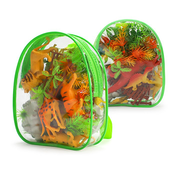 2Style Dragon Dinosaur Action&Toy Figures Model Bag Collection Animal Collection Model Toys Gift For Kids недорого