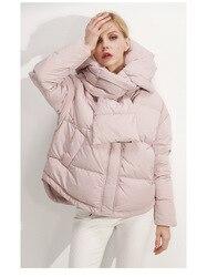 2019 nuevo invierno otoño mujeres de manga larga calientes chaquetas abrigos a prueba de viento Casual algodón señoras Hoodies abrigos S M 89-240
