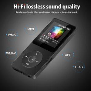 MP3 Player with Speaker earphone Built-in 8GB 16GB HiFi Metal Mini Portable Walkman with radio FM recording fiio