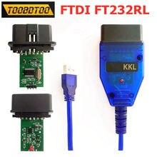 Ft232rl ftdi para vag 409 kkl cabo de interface usb kkl para vag 409 scanner diagnóstico nenhuma dc ou fonte de alimentação alternativa necessária