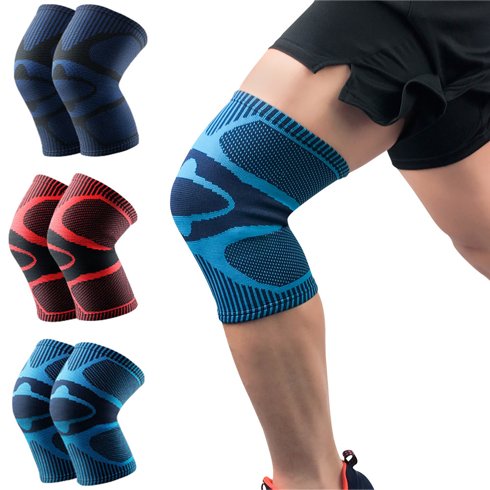 Sports Stretch Knee Protection Support Training Leg Knee Compression Sleeve