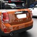 5D carbon faser Vinyl Auto hinten stoßstange Stamm last rand Protector schutz Trim Aufkleber aufkleber für MINI Cooper S Countryman f60 2017