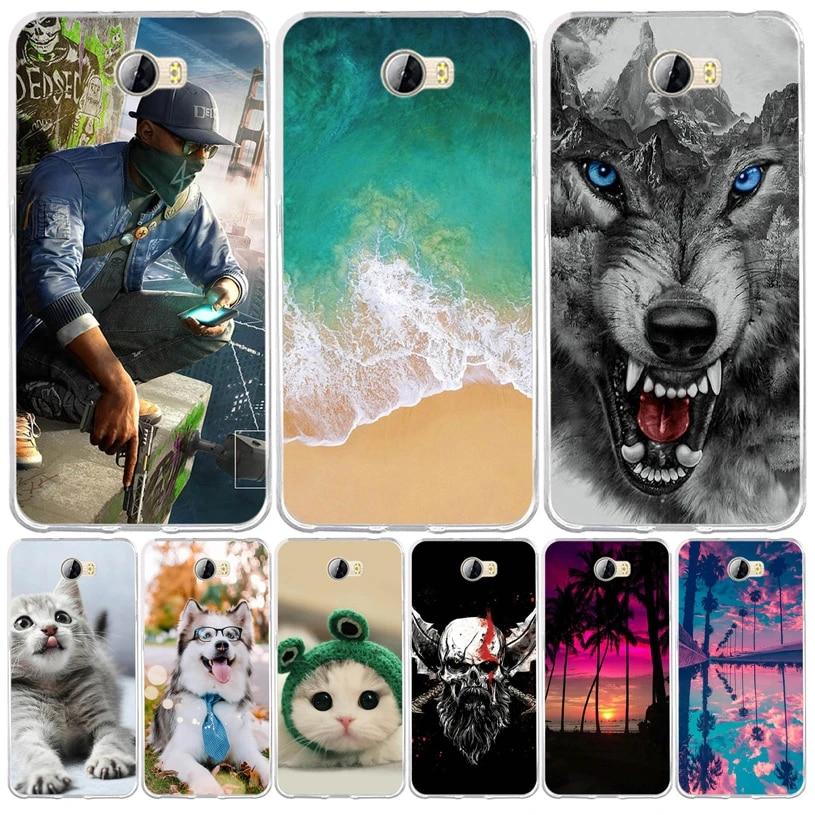 For Huawei Y5 II Y5II Y5 2 Case Cover Silicone Soft TPU Fundas For Huawei Honor 5A LYO-L21 CUN-U29 Cover For Huawei Y5 II Coque