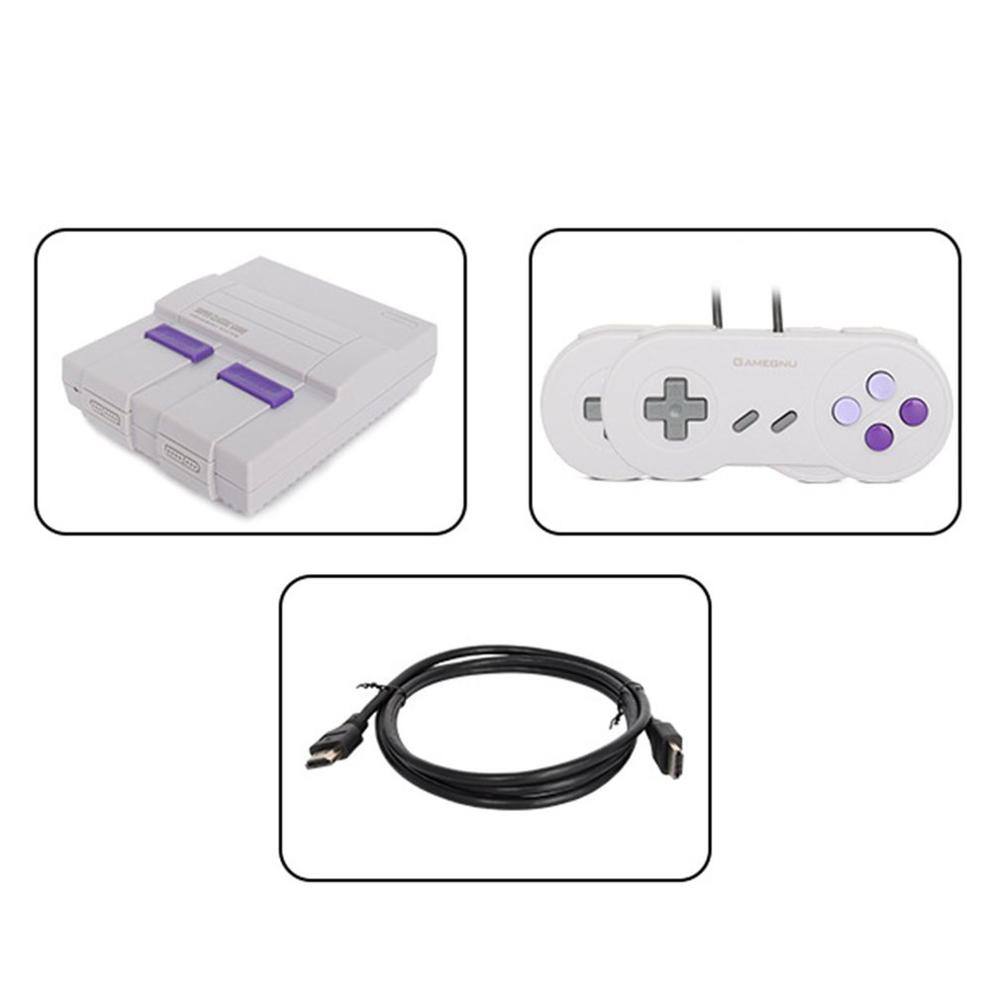 HD 821 Retro Mini TV Handheld Family Recreation Video Game Console AV Output Built-in Classic Games Dual Gamepad Gaming Player