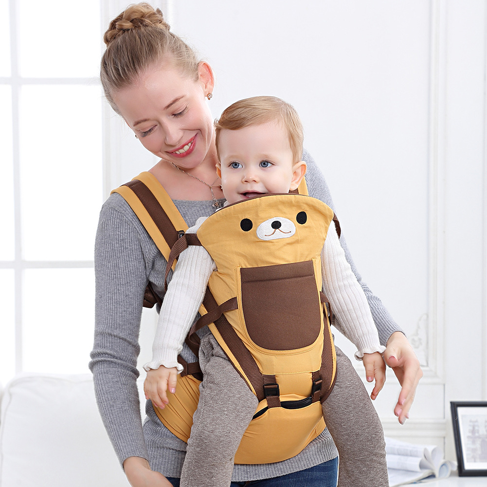 Baby Carrier Infant Kid Baby Hipseat Sling Front Facing Kangaroo Baby Wrap Carrier for Baby Travel 0-36 Months Ergonomic