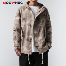 Jackets Outerwear Hombre Denim Coats 2020 MOOWNUC Hip Hop Kpop Fashion Loose Solid  Men's Clothes Spring Dress Boys Casual MWC