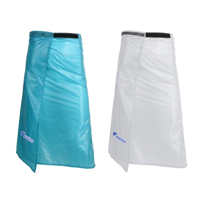 Lightweight 15D Silicone Coating Rain Gear Rainwear Long Rain Kilt Waterproof Skirt Pants Trousers For Outdoor Hiking Camping