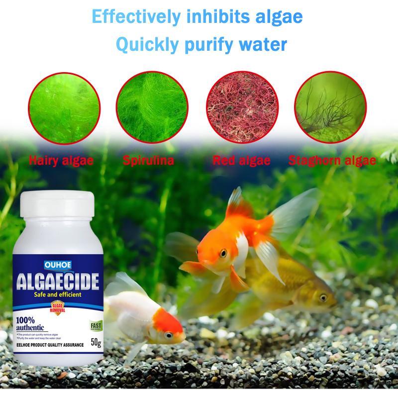 Aquarium Algaecide Algae Purifier Natural Purifying Purification Water Aquarium Pond Algae Moss Algaecide Algae Repellent Agent