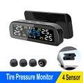Автомобильный солнечная система контроля давления в шинах шин Давление мониторинга Системы шины Температура Предупреждение экономия топл...