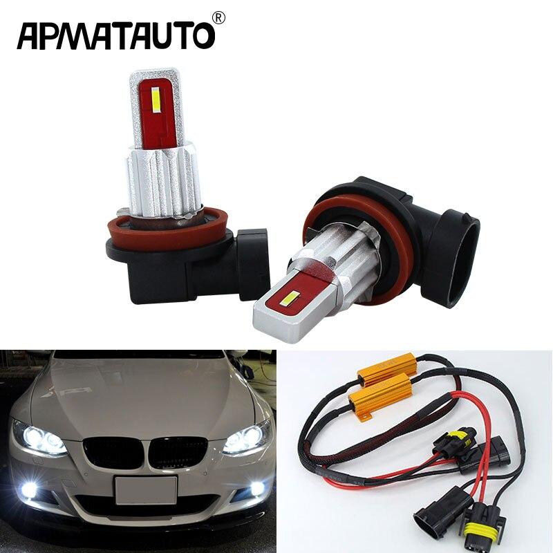2x 9006 HB4 1400LM LED Fog Driving Light DRL Canbus For M3 E60 E63 E64 E46 525i
