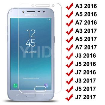 9H szkło hartowane dla Samsung Galaxy S7 A3 A5 A7 J3 J5 J7 2016 2017 J2 J4 J7 rdzeń J5 Prime ochraniacz ekranu szkło ochronne tanie i dobre opinie YHDKSA CN (pochodzenie) Przedni Film Galaxy J5 Galaxy J7 Galaxy A3 Galaxy A5 Galaxy A7 Anti-Blue-ray mobile phone 9H Tempered Glass on For Samsung Galaxy S7