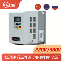 new VFD 2.2KW new inverter speed control 1.5KW/2.2KW 220v 1P input 3P OUT frequency  for CNC Spindle motor