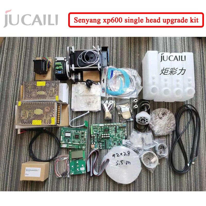 Jucaili kit placa de atualização impressora grande formato para dx5/dx7 converter para xp600 única cabeça kit inteiro para impressora solvente eco