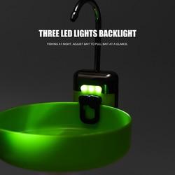 Умный датчик водяной кислородный насос со светодиодным освещением для рыбалки на открытом воздухе портативный легкий для рыбалки переносн...