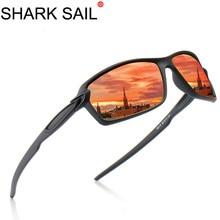 SHARK SAIL Men Polarized Glasses Car Driver Night Vision Goggles Anti-glare Polarizer Sungl