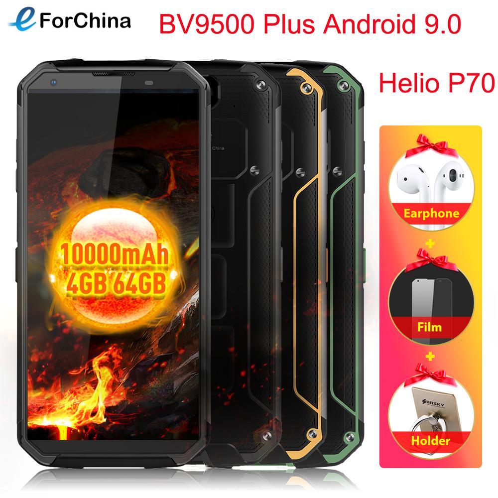 Blackview BV9500 Plus, 5,7 дюйма, HD экран, Беспроводная зарядка, телефон Helio P70, четыре ядра, Android 9,0, 4 Гб ram, 64 ГБ rom, смартфон, OTG, NFC|Смартфоны и мобильные телефоны|   | АлиЭкспресс
