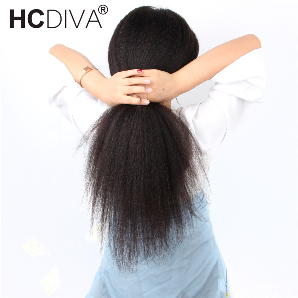 13*4 Lace Front Wig Kinky Staright Human Hair Wig Pre Plucked With Baby Hair 180% 13*6 Brazilian Remy Human Hair Wigs For Women-in Human Hair Lace Wigs from Hair Extensions & Wigs    1