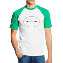 LYTLM Oversize Anime Tee Shirt Homme Baymax T Shirt Streetwear Men Clothes 2020 Ropa Hombre Casual Rock T-shirt Korean Style Men(China)
