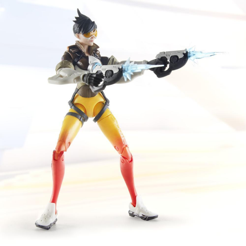 15cm Hasbro Overwatch Tracer Anime characters Action PVC Collection Model Toy Anime Figure Toys For Kids 2